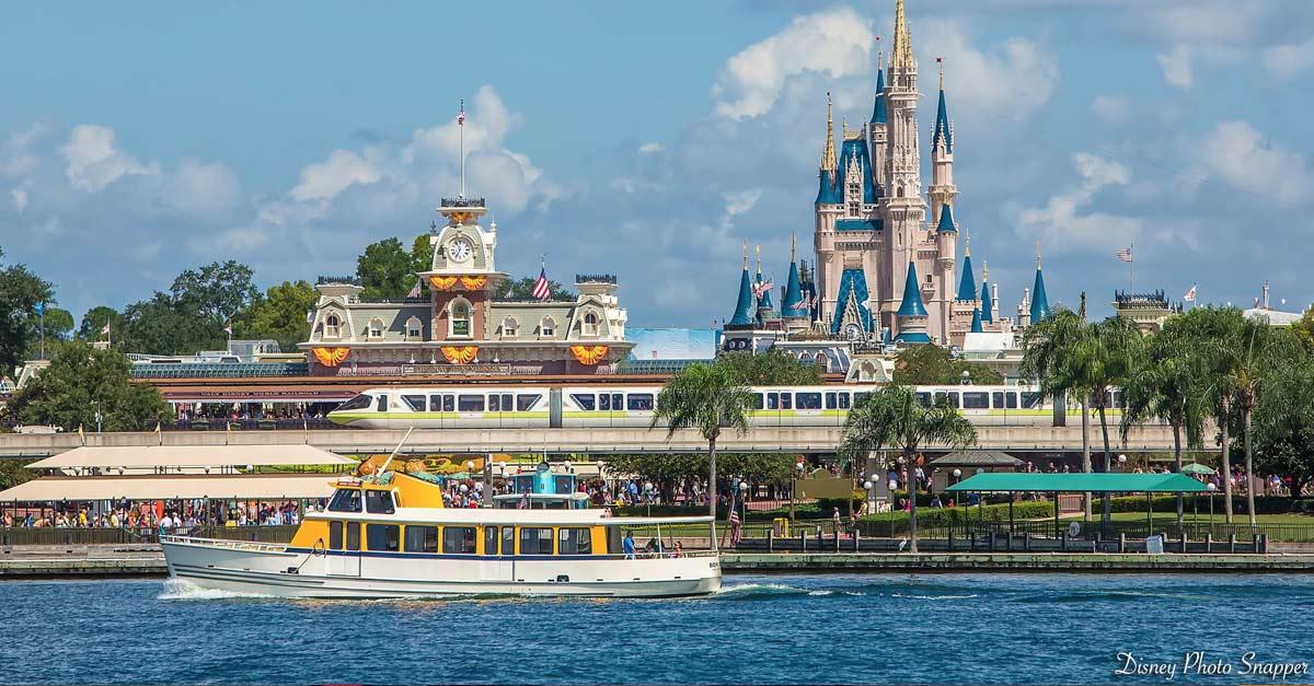 Disney Castle Entrance