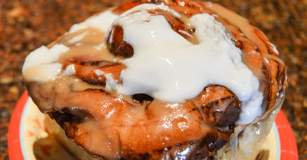 Gaston's Tavern Cinnamon Roll