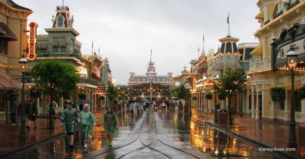 rainy day Disney